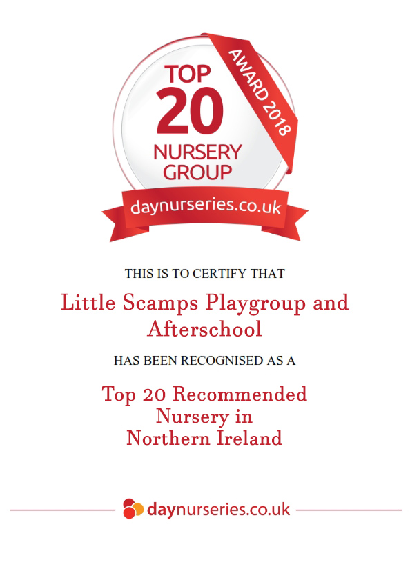 Day Nurseries Award 2018