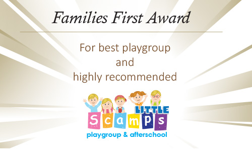Family Awards 2017 for best playgroup and highly recommended